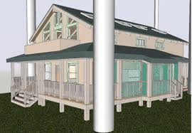 deck posts and railing using curtain walls in architectural desktop