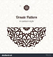 royalty free vector lace pattern in eastern style on u2026 220689244