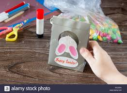 easter bunny candy the child create easter greeting card packaging paper easter bunny