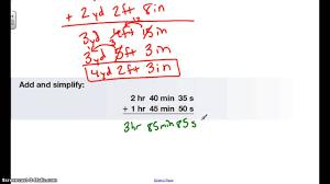 adding u0026 subtracting mixed measures youtube