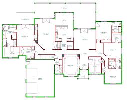 split plan ranch house plans bakersfield 10 582 associated designs and split