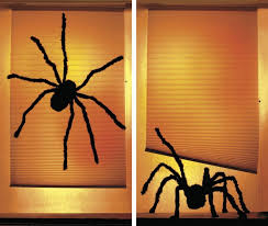 halloween decorations giant spider plush spider for halloween decoration 4 9ft and 49 similar items