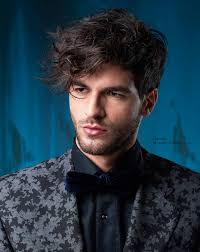 short sides and curl top hairstyles men s hairstyle with short sides and a longer curly top