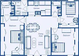 three bedroom floor plans 3 bedroom house floor plans home intercine