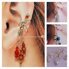 ear cuffs for pierced ears the jewelry trend learn how to make ear cuffs
