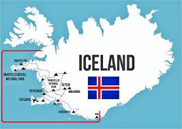 Iceland Map World Bill U0027s Excellent Adventures Iceland Summer