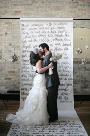 Backdrops For Weddings Design Inspiration Non Traditional Backdrops For Diy Weddings