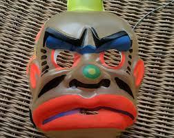 vintage halloween mask etsy