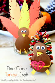 pinecone turkey craft ye craft ideas