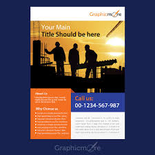 free flyer designs company flyer design free psd file
