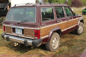 1988 jeep wagoneer 1988 jeep wagoneer limited suv item h6614 sold septembe