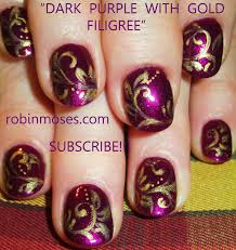 gold snowflakes and holly diy christmas diva nail art design put