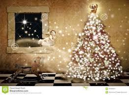 Barcana Christmas Trees by Mery Christmas Card Christmas Lights Decoration