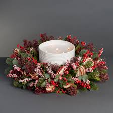 gorgeous candle wreaths decorative candle ring and