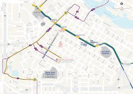 Light Rail Map Minneapolis Metro Transit Super Bowl Lii