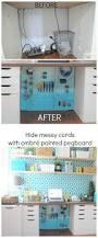 Pegboard Ideas Kitchen Best 25 Painted Pegboard Ideas On Pinterest Pegboard