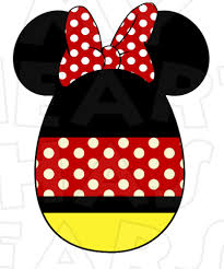 Mickey Mouse Easter Eggs Minnie Mouse Easter Egg Instant Digital Clip Diy Iron
