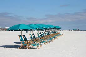 Beach Chair Umbrella Set Beach Chair Rentals The Beach Club