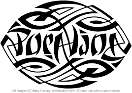 pura vida ambigram his a custom ambigram of the words flickr