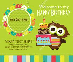 21 beautiful kids birthday invitations free psd eps vector
