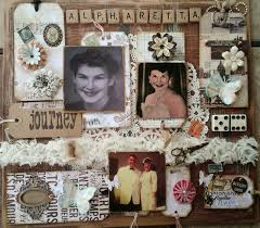 click visit site and check out cool memory board vintage ephemera altered scrabble board made for a friend s mother s funeral