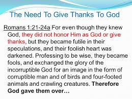 the importance of being thankful to god pastor eric douma may 20