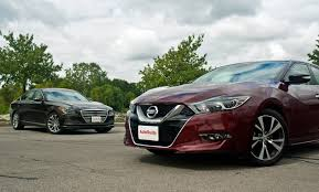 nissan altima 2016 vs mazda 6 2015 hyundai genesis vs 2016 nissan maxima autoguide com news