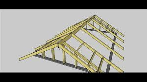 gable roof procedure youtube