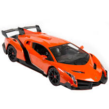red orange cars best choice products 1 14 scale rc lamborghini veneno gravity