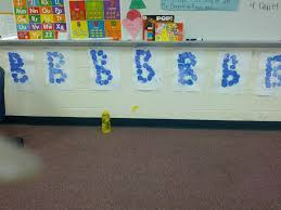 ms kim u0027s pre k letter b and bubbles