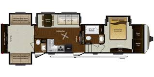Montana Fifth Wheel Floor Plans 2015 Keystone Rv Montana Mountaineer Fifth Wheel Series M 350 Qbq