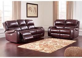 Power Reclining Sofa And Loveseat by James Furniture Norcross U0026 Duluth Ga Gilmanton Burgundy Power