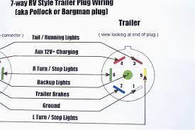 wiring diagrams 7 prong trailer diagram standard incredible pin