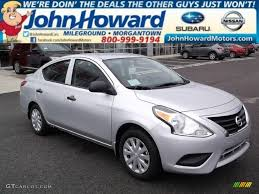 nissan versa s plus 2015 brilliant silver nissan versa 1 6 s plus sedan 98218988