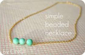 making beaded necklace images Simple beaded necklace jpg