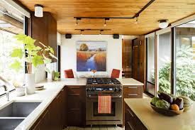 mid century modern home interiors kitchen contemporary kitchen ideas for small kitchens along with