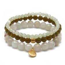 bracelet sets jade stretch bracelet set satya jewelry
