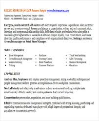 Retail Sales Manager Resume Samples by 42 Manager Resume Templates Free U0026 Premium Templates