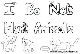 love animals coloring pages