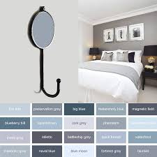 grey colourful bedroom coat hooks by pushka home