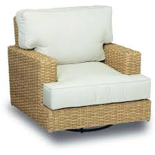 Swivel And Rocking Chairs Sunset West Leucadia Wicker Swivel Rocking Club Chair