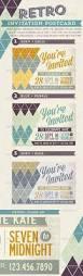 artistic poster postcard invitation u2014 vector eps smile event