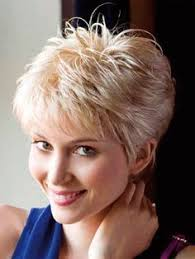 feather cut 60 s hairstyles image result for short feathered hair cuts for women with thick