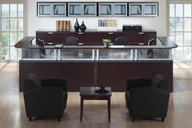 Affordable Reception Desk Wonderful Espresso Reception Desk Savvi Commercial And Office