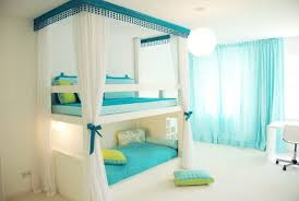 Bunk Bed Canopy Magnificent Bedroom For With Canopy Bunk Beds With White