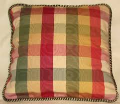 country french pillows t u0027s eclectic treasures checks monogram
