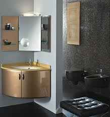 Vanity And Mirror Bathroom Gold Modern Corner Bathroom Vanity With Wall Cabinet And