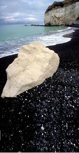 black sand beach in north canterbury new zealand new zealand