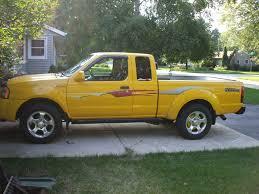 yellow nissan truck jonmandude 2001 nissan frontier king cabdesert runner se specs