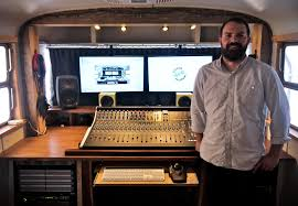 Music Studio Desk Workstation by Spartan Recording On The Road With Xl Desk Solid State Logic